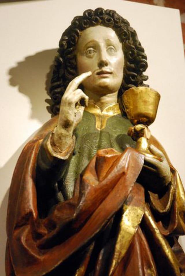 statue du Musée du château des chevaliers Teutonique de