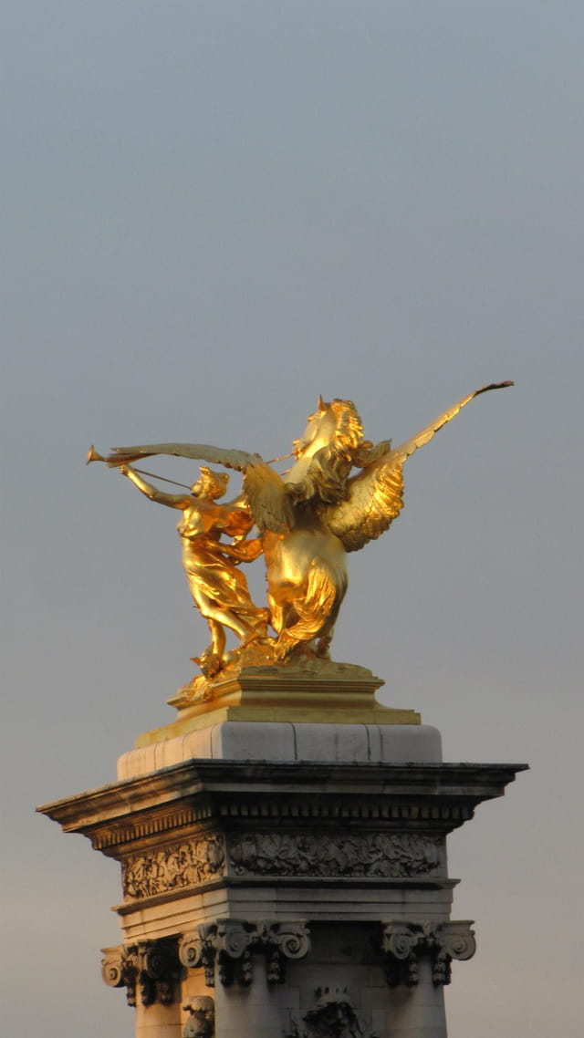 Statue du pont Alexandre III