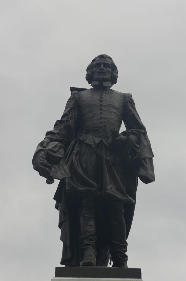 Statue rénovée