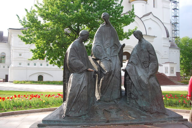 statues de la Trinité de Yaroslavl
