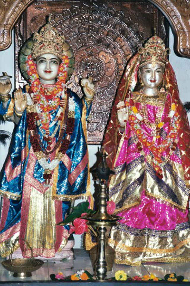 Statues temple hindou