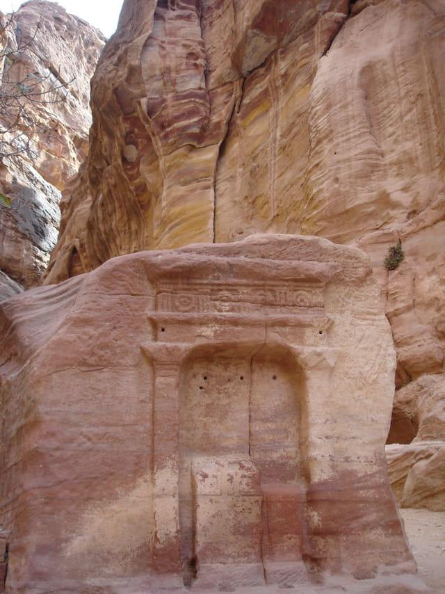 Stèle dieu dûshara