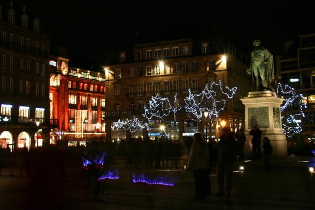 Strasbourg, place Kleber, marché de noël