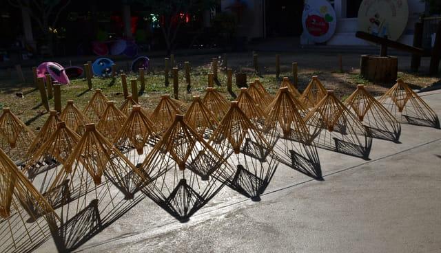 structure des ombrelles