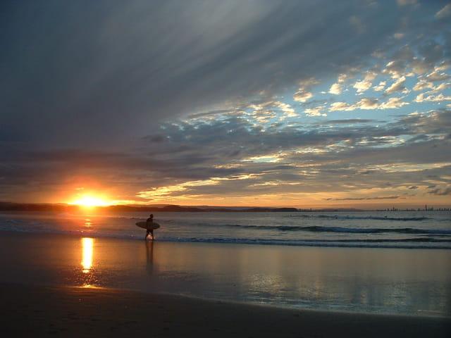 Sunset à Snapper Rock