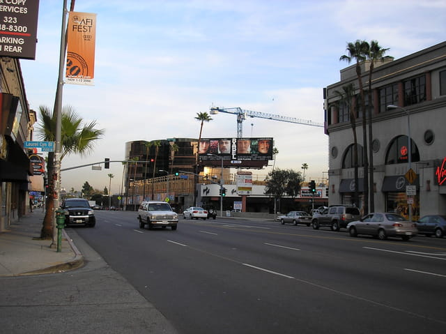 Sunset blvd a los angeles