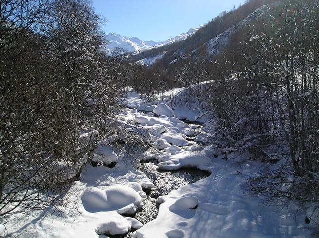 Superbe paysage en montagne