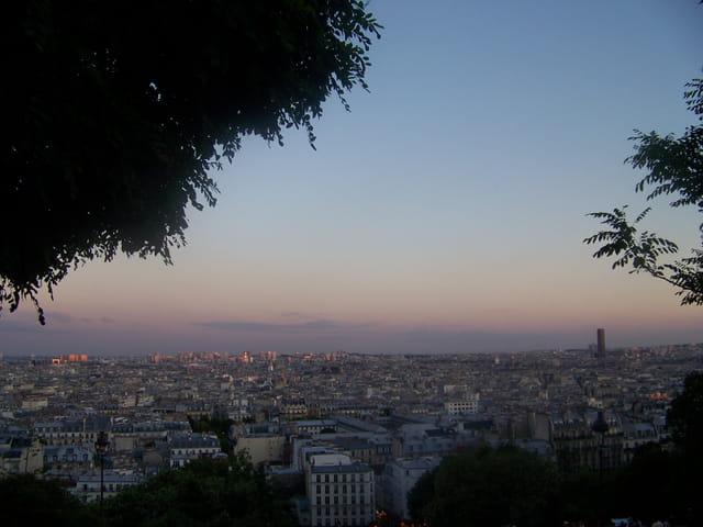 Sur la Butte Montmartre
