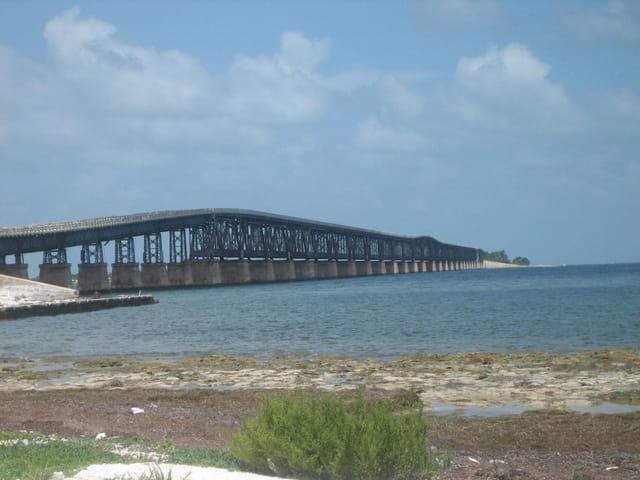 Sur la route des Keys en Floride