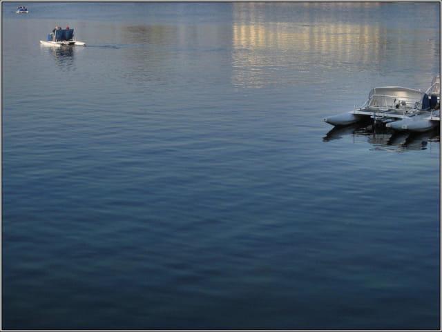 Sur le Lac d'Enghien