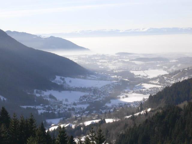 Sur les hauteurs de Bernex
