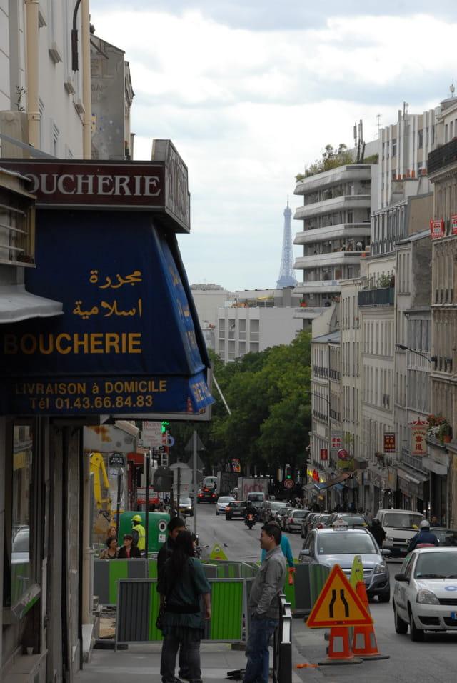Sur les hauteurs de Paris