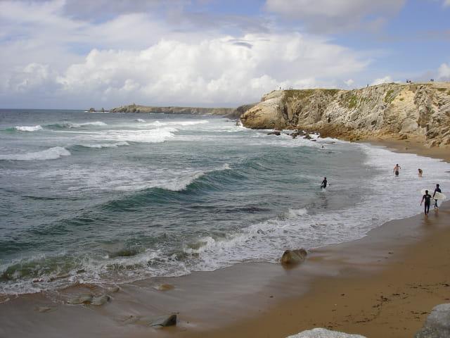 Surf à la côte