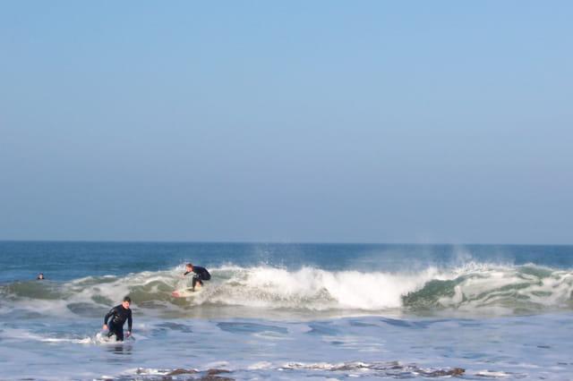 Surfeur a Saint-Briac