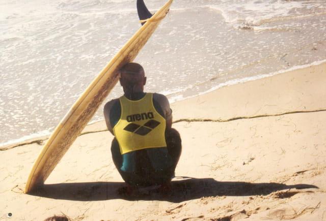 Surfeur au repos...