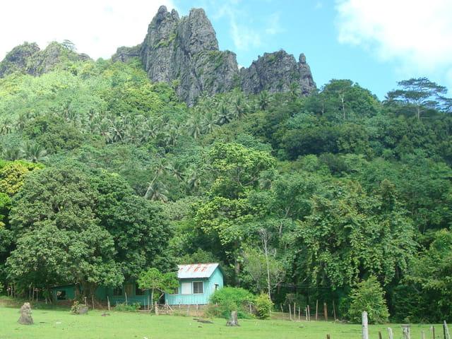 Surprenant  paysage de montagne