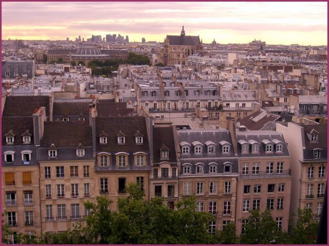 Survoler les toits de Paris