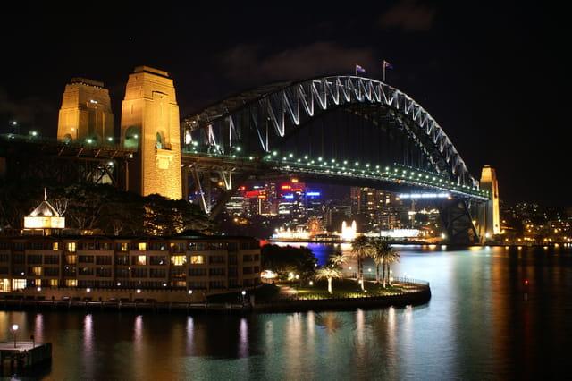 Sydney by-night.