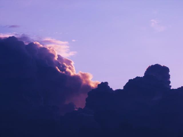 Symphonie de nuages.