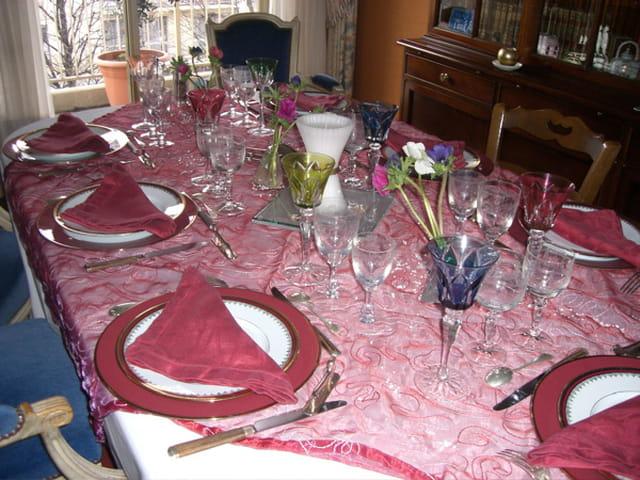Table prête pour le 31