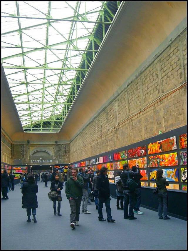 Tags et graffs exposés au Grand Palais