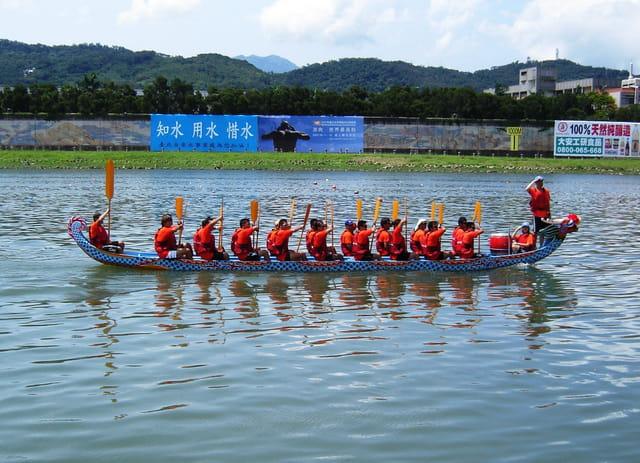 Taipei, bateau dragon gagnant