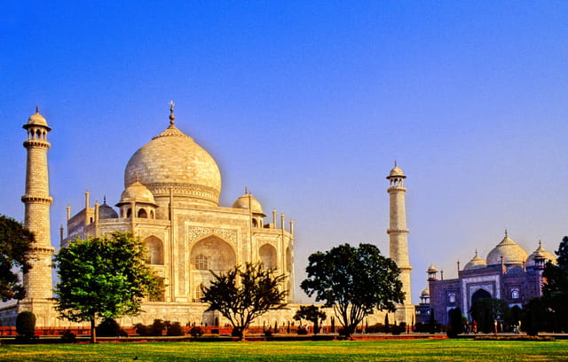Taj mahal et mosquée