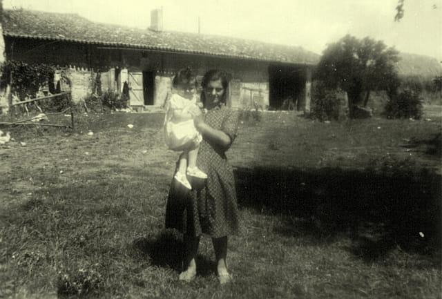 tante Rina en Bosc