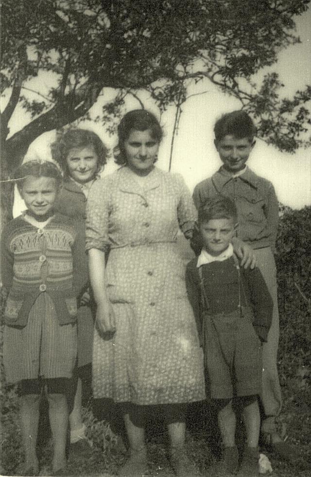tante  Rita et ses enfants