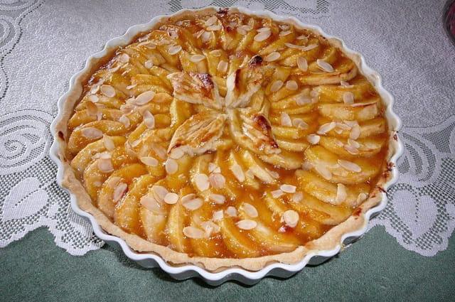 Tarte aux pommes de Normandie