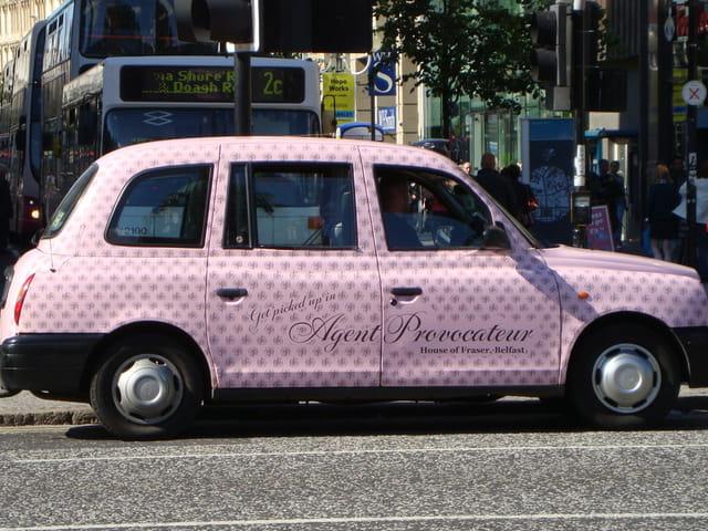 Taxi à Belfast