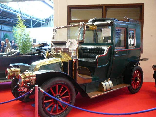 Taxi officiel 1908
