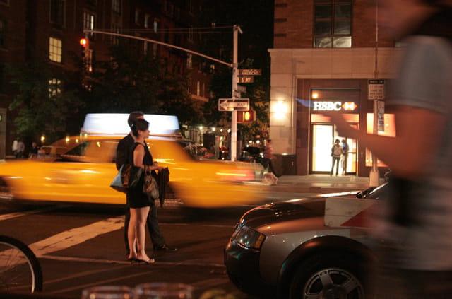 Taxi qui file, attente...