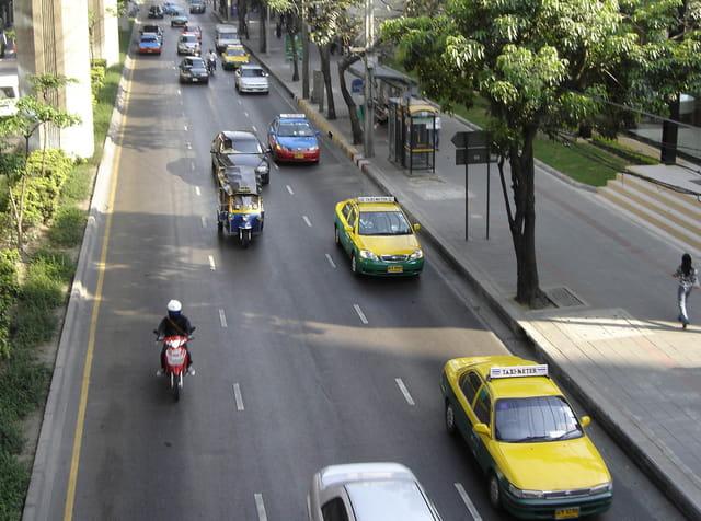 Taxis et touk touk