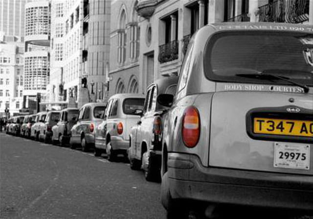 Taxis... made in london !