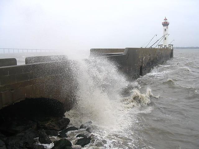 Tempête de grand marée