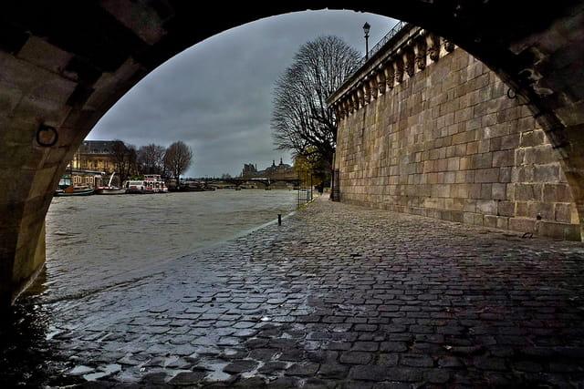 Tempête sur Seine