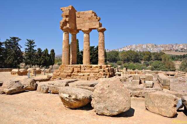 Temple des Dioscures
