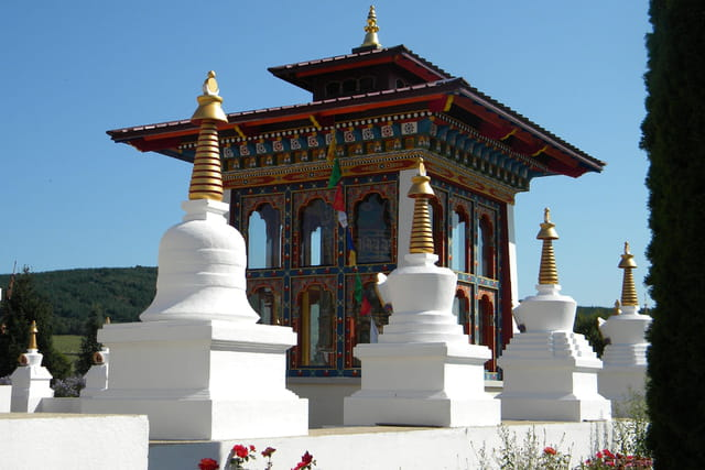 temple des milles Bouddas