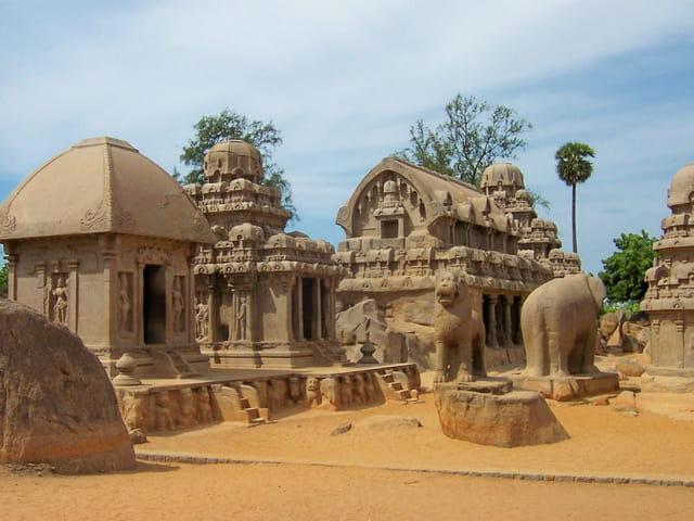 Temples en granit