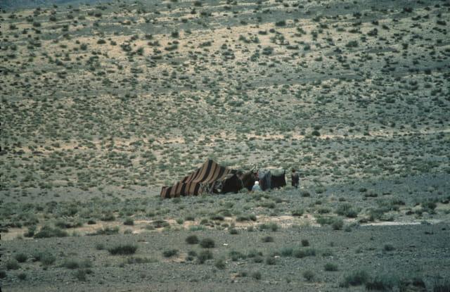 Tente de nomade