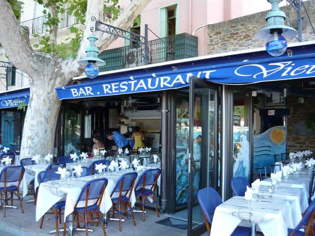 Terrasse de café restaurant