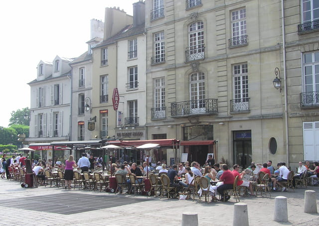 Terrasses de brasseries
