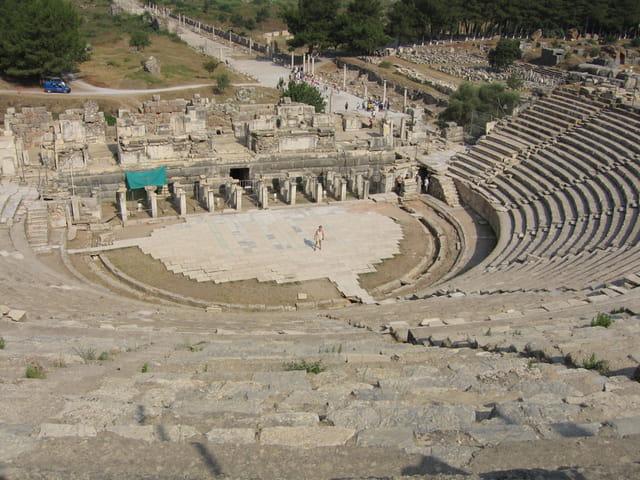 Théâtre à Ephèse