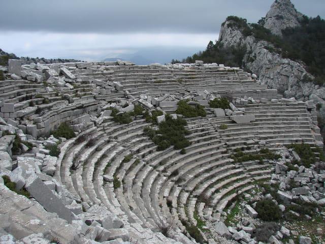 Théâtre antique de 4 200 places