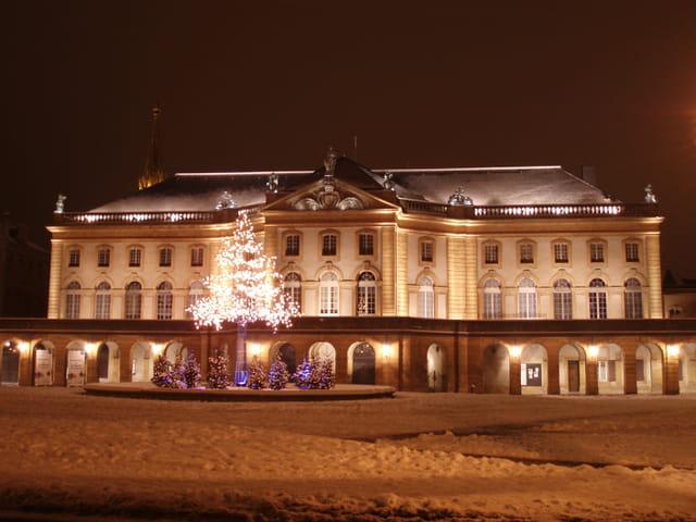 Théâtre sous la neige