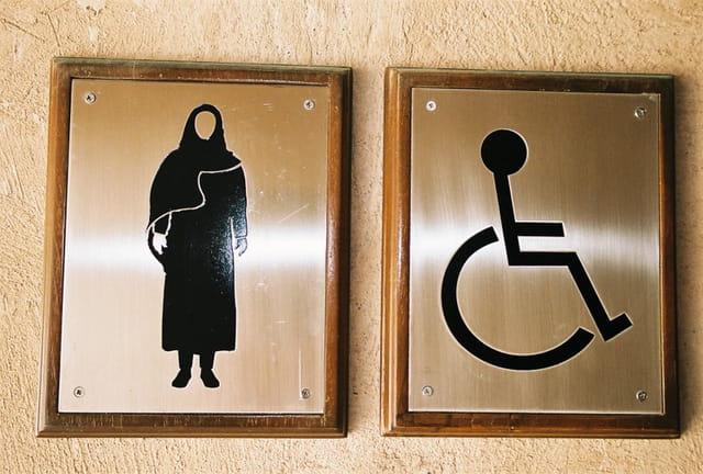 Toilette pour femmes