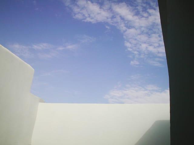 Toit de ciel bleu
