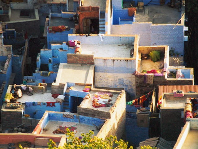 Toits de Jodhpur