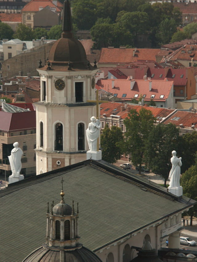Toits de la Cathédrale de Vilnius